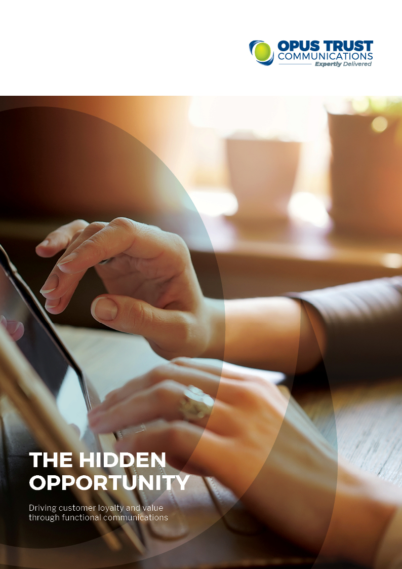 The Hidden Opportunity Report - Opus Trust Communications - front cover thumbnail